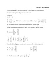 06Solving Linear Systems