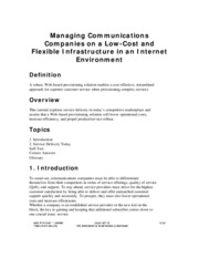 Managing Communications Companies