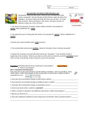 concentration and molarity phet answer key - concentration ...
