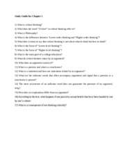 Study Guide-Ch1