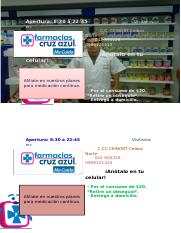 Farmacia Cruz Azul