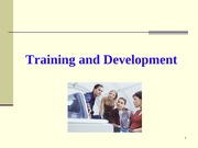 Ch 6 - Training and Development