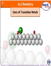 uses_of_transition_metals