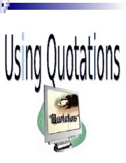 Quotations.ppt
