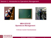 Session 1_Introduction & Operations Strategy