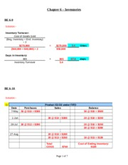 Ch-6 (inventories)_problems and Solutions.doc