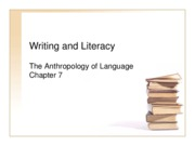 Linguistic Anth. Chapter 7