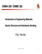 lecture2-Ch2 Atomic and bonding_0903