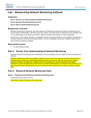 8.2.1.8 Lab - Researching Network Monitoring Software.docx