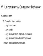 Chapter 5_Uncertainty