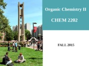 CHEM 2202_FALL 2015_Ch [26] Lecture