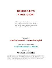 Democracy A Religion (www.islam.co.cc).pdf