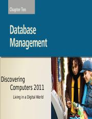 Chapter 10 Database Management.ppt