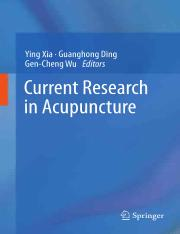 Current Research in Acupuncture - Ying Xia.pdf
