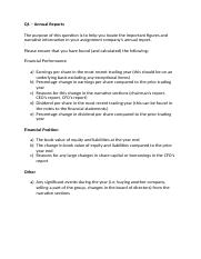 Q1 Answer - Annual Reports.docx