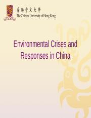 CS11_Environmental Crisis and Response in China.ppt