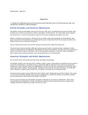 Study Guide History Chapter 5