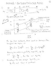 Lecture 2 Notes - Engine Cycle Analysis