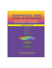 Advanced.ASIC.Chip.Synthesis.2ndED