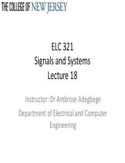 Lecture 18_Signals and Systems_LaplaceTransformApplication
