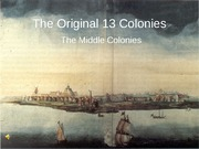 Middle colonies (1)