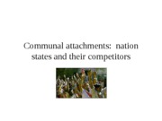 1 Nation states and their competitors