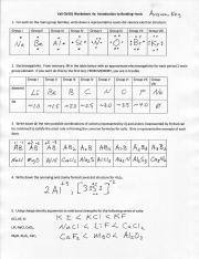 fall ch301 worksheet 4a introduction to bonding ionic avis we ce l3 1 for each. Black Bedroom Furniture Sets. Home Design Ideas