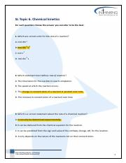 SL-Topic-6-Chemical Kinetics Homework Sheet 2_MCQ revision