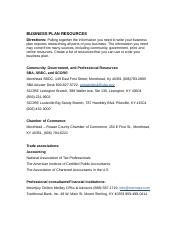 Chapter 3 Business Plan  Resources.docx