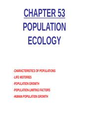 Unit-2-Ecology-Chp-53-Population-Ecology