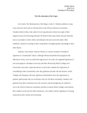The Miseducation essay.docx