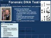 Forensic DNA Testing