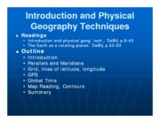Lecture 1 Intro GEOG