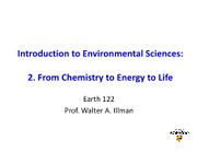 Earth 122 Ch02 notes 2012