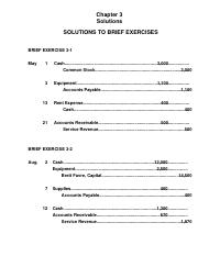 Solutions Chapter 3 ACC
