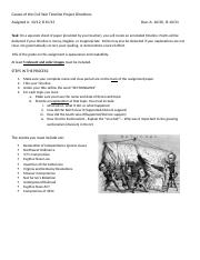 Causes of the Civil War Timeline Project Directions (1).docx