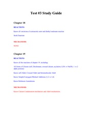 test#3 study guide