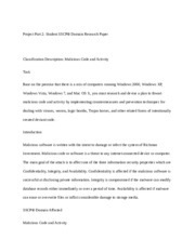 NT2580 Student SSCP® Domain Research Paper Project Part 2