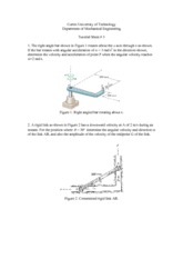 Tutorial Sheet 3 Solution