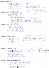 Math 100 Quizes and Tests