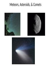 Comets, Meteors, and Asteroids.pptx