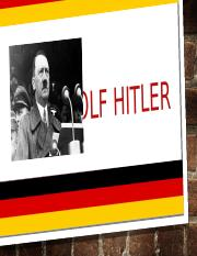 Adolf Hitler Power Point