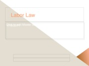 Labor Law 2011 posted