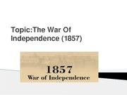 The War Of Independence (1857)