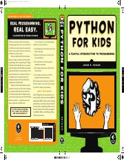 Briggs, Jason R Python for kids  a playful introduction to programming.pdf