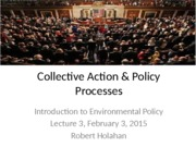 03--Collective action and policy processes Feb 3
