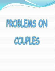 B16 Statics_Couples - Problems