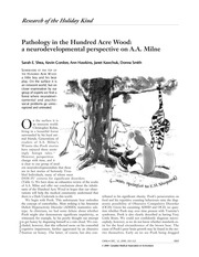 Pathology in the Hundred Acre Forest