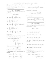 11.10_ Taylor Series-solutions