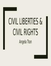 Civil Liberties & Civil Rights Vocab